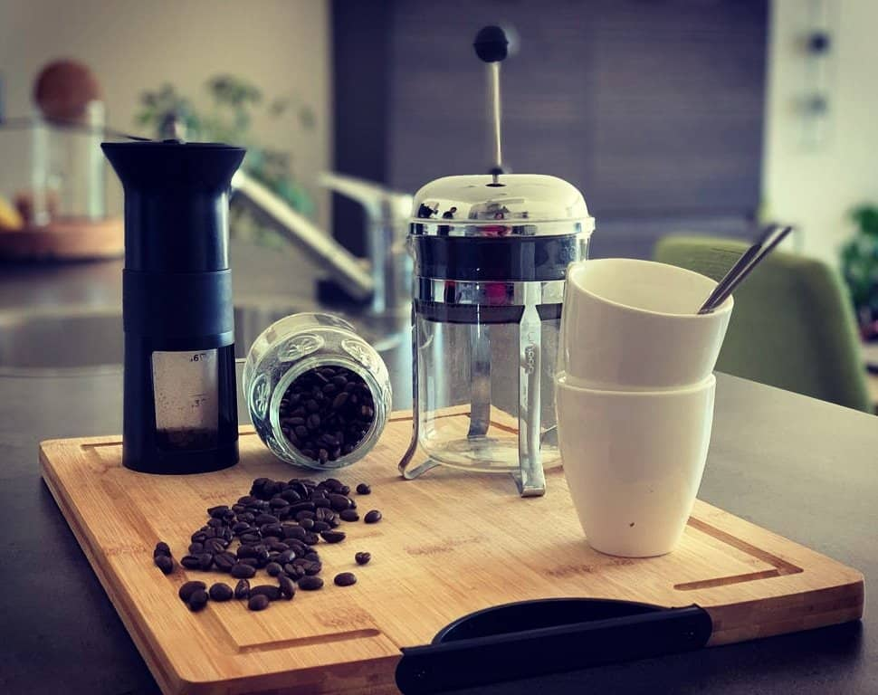 Materials to make Zero Waste Coffee