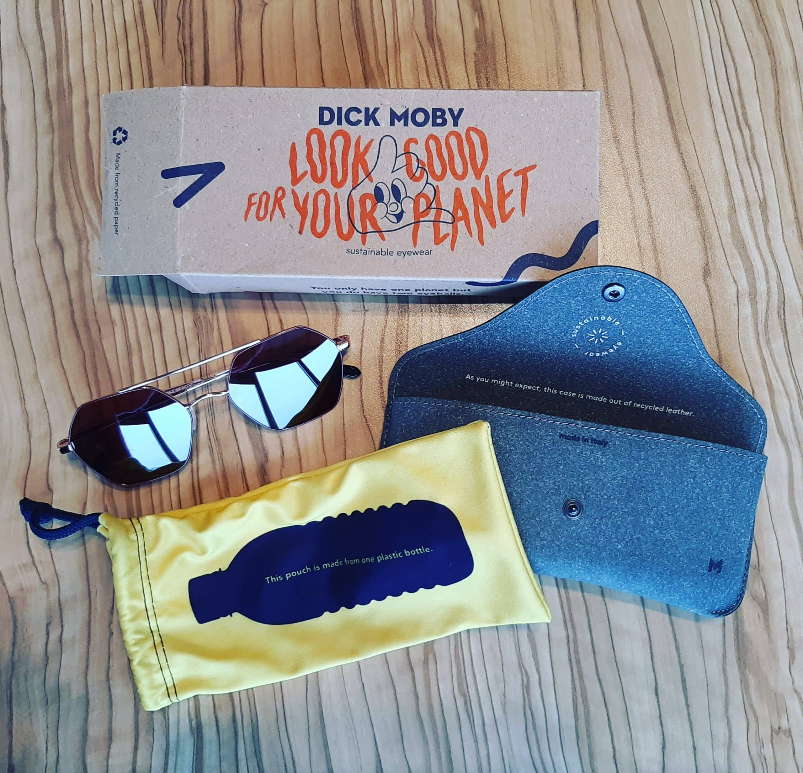 Dick Moby eco friendly sunglasses