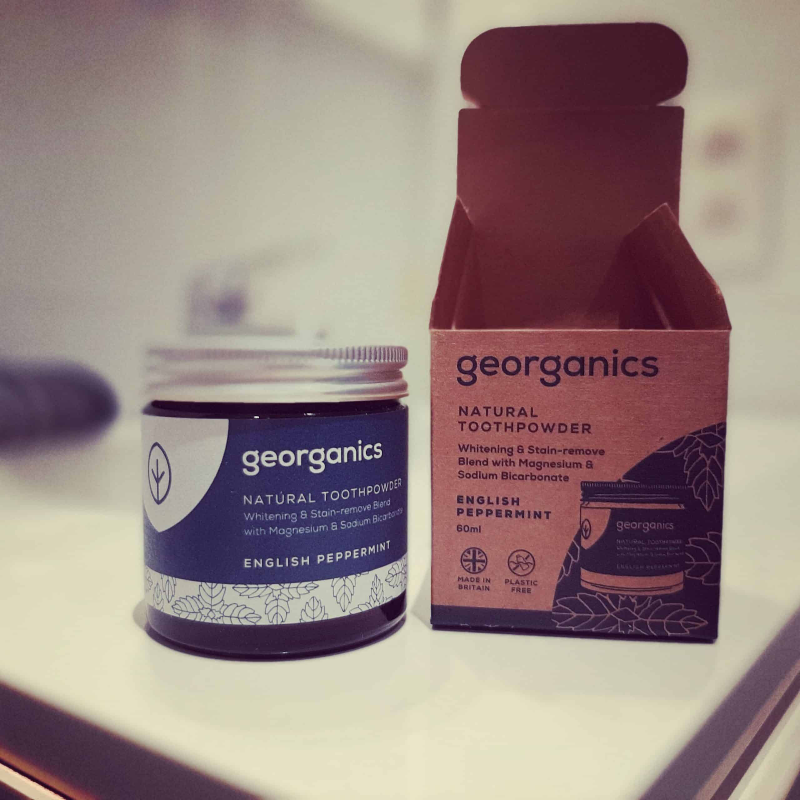 Georganics Zero Waste Toothpaste Tablets