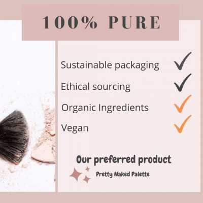 100 Pure zero waste makeup facts