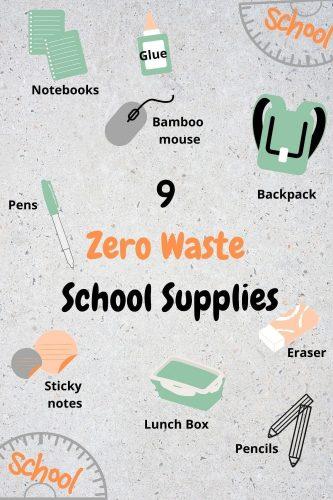 9 zero waste school supplies
