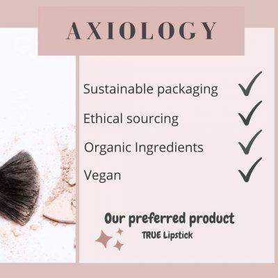 Axiology - ZW makeup facts