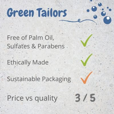 Green Tailors Dish Soap