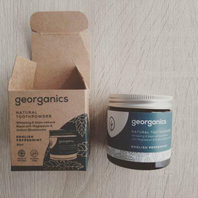 Georganics Zero Waste Toothpaste Tablets