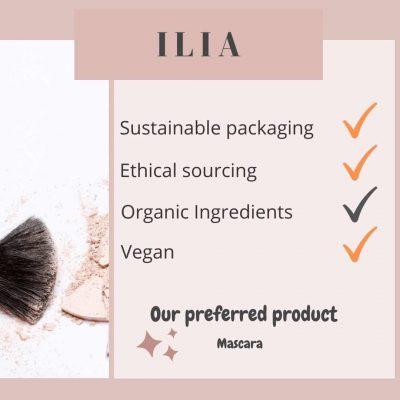 Ilia zero waste makeup