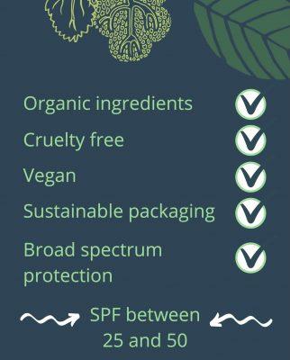 Empire Squid Zero Waste Sunscreen benefits