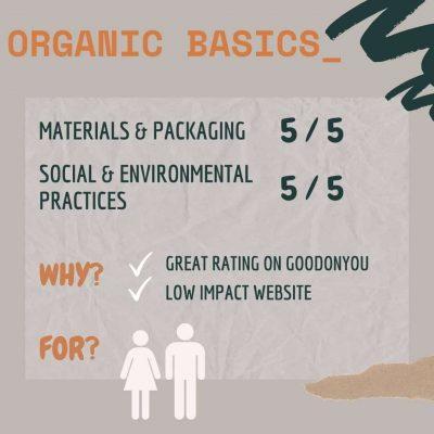 Organic Basics - Canva