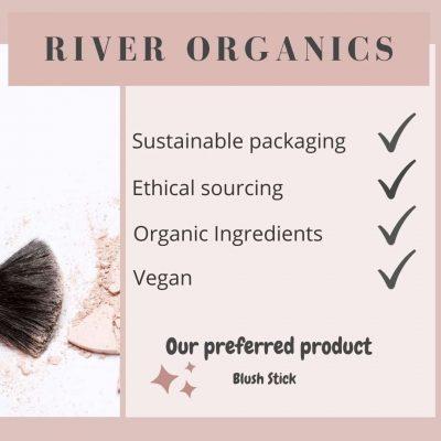 River Organics Zero waste makeup