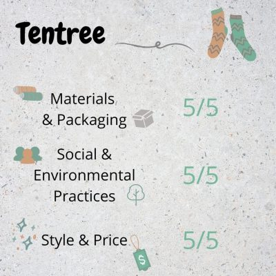 Tentree Eco Friendly Socks