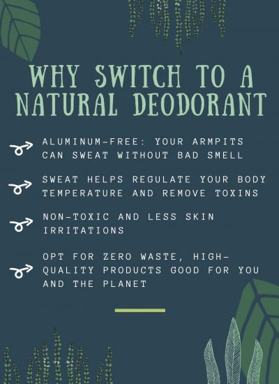 Why Switch to a Natural Zero Waste Deodorant