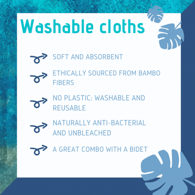 Why we love washable cloths
