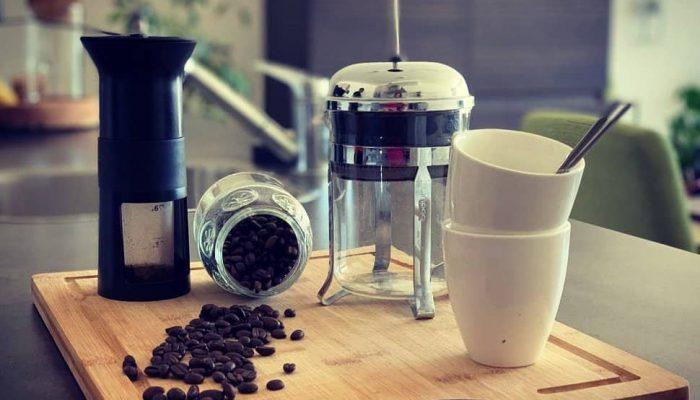 Materials to make Zero Waste Coffee