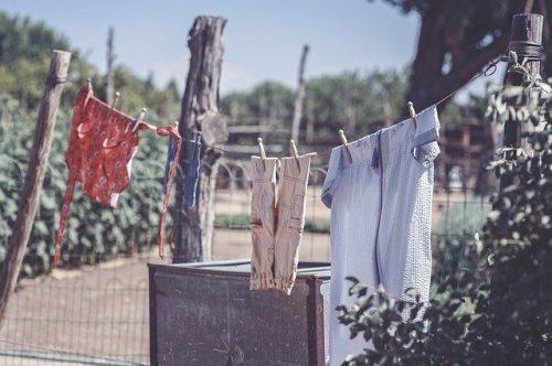air dry clothes