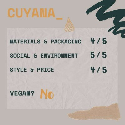 eco friendly purses CUYANA