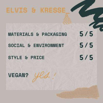 eco friendly purses elvis & kresse