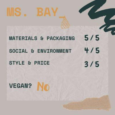 eco friendly purses ms bay