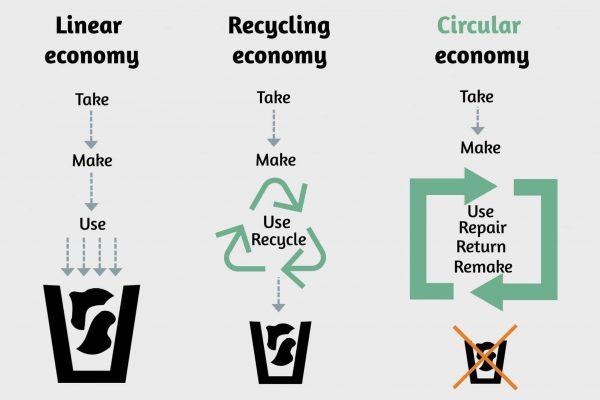 Linear VS Circular Economy Graph