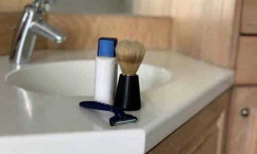 plastic shaving