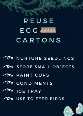 List of things for which you can reuse egg cartons