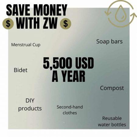 Saving Money With Zero Waste
