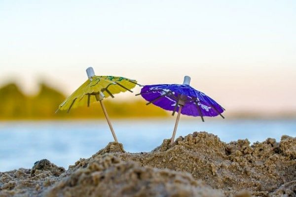 Summer Beach Umbrellas